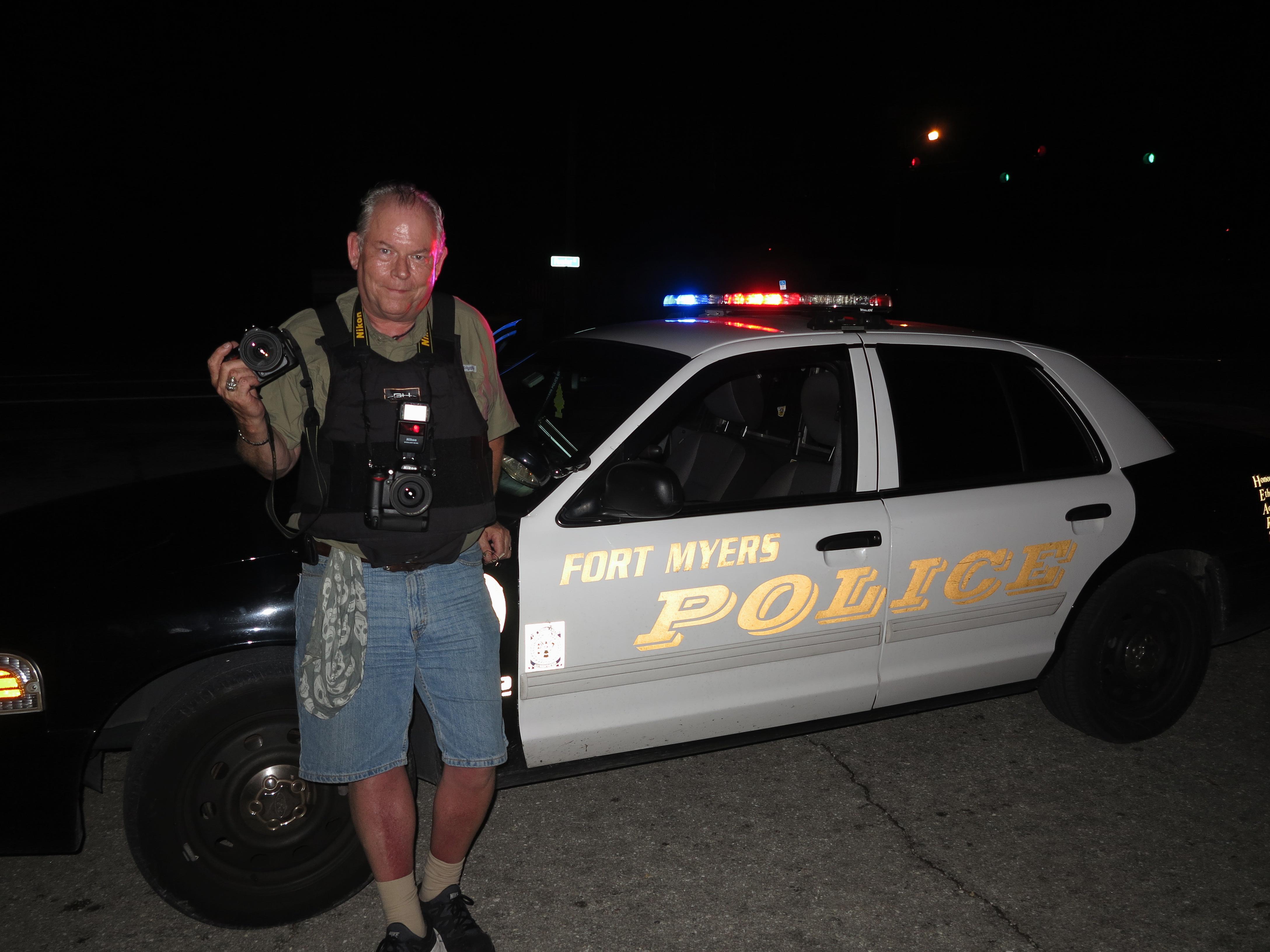 Polisen satte handbojor pa min 16 aring