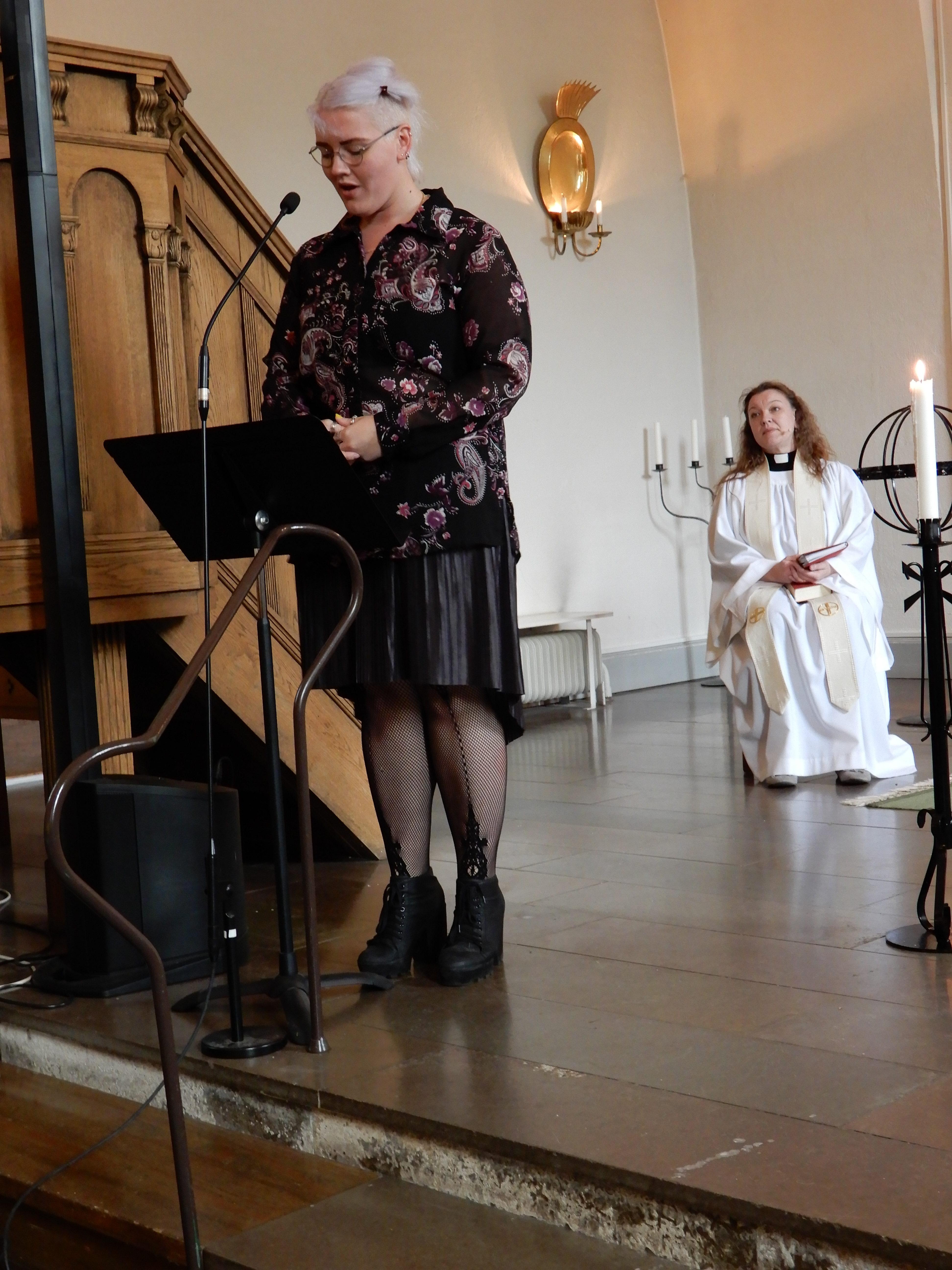 dc277b0a15e9 Josephine, Isabell och jag har valt musik av bröderna Gärdestad, Marie  Fredriksson och Tommy Nilsson. Isabell sjunger Amazing Grace. Allt är i sin  enkelhet ...